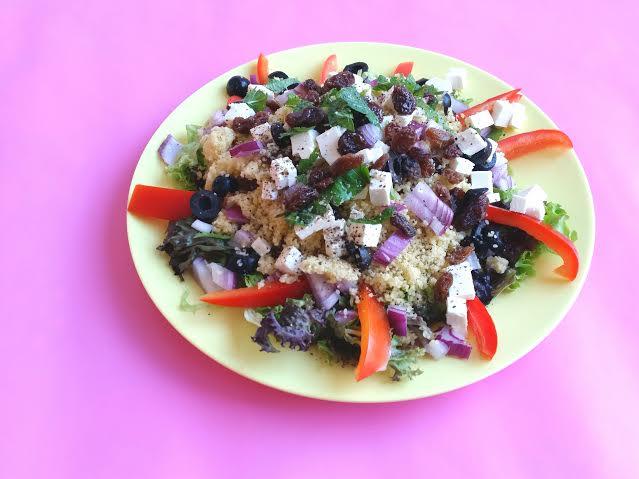 salade couscous feta