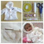 DIY: Easy Restyling van een Babyjasje (zonder naaimachine!)