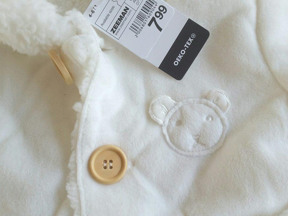 restyling babyjasje voorfoto close up