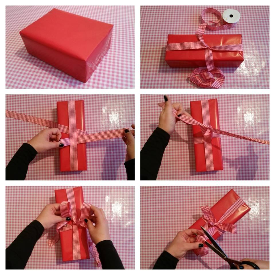 cadeau strik maken