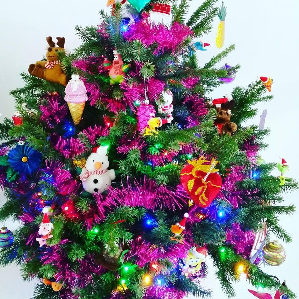 kitsch kerstboom