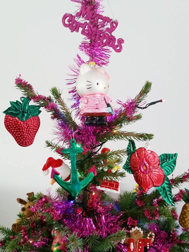 kerstboom top