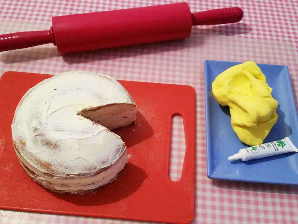 pacman-taart-snijden
