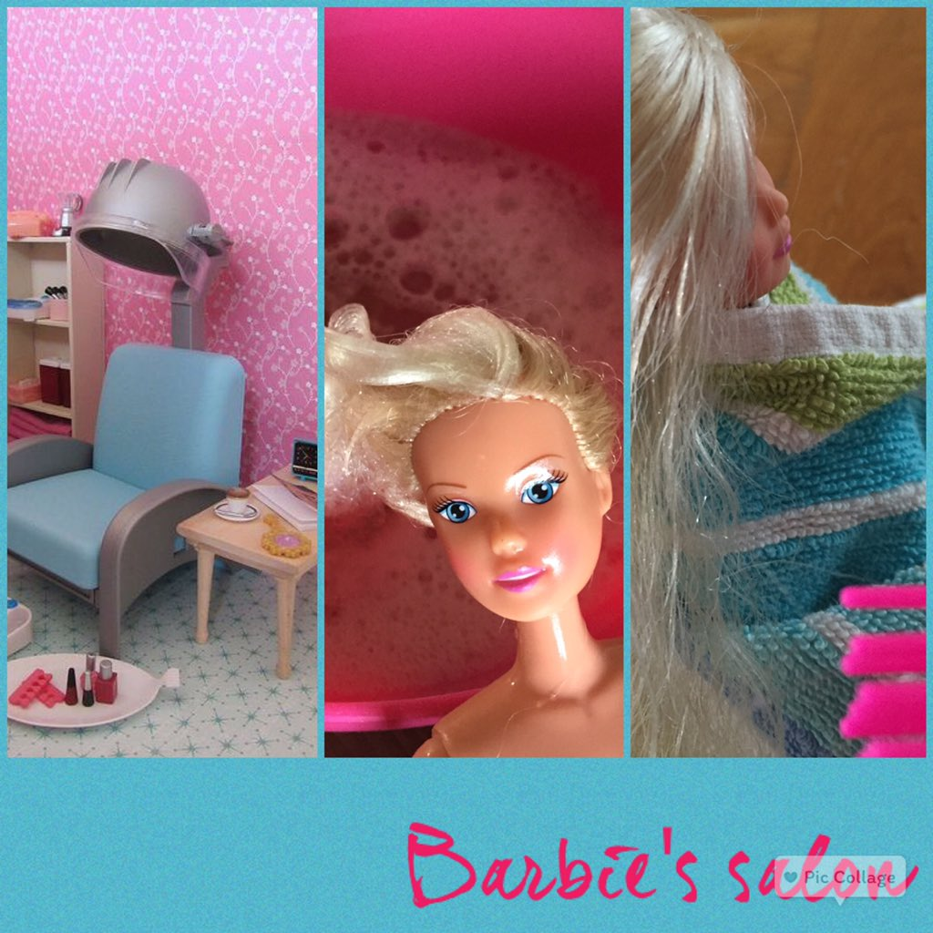 barbie make over