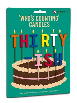 thirty something candles