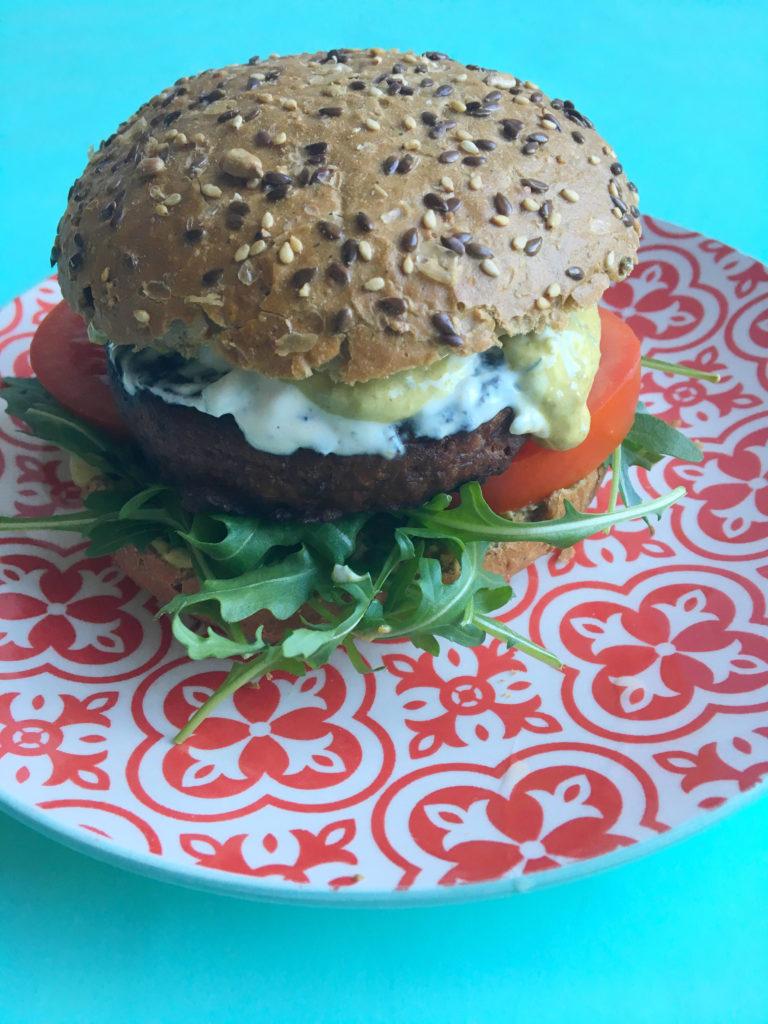 italiaanse vega pestoburger