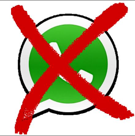 verkeerd typen whatsapp