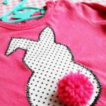 DIY: Baby Bunny Shirt (mét fluffy konijnenstaartje!)