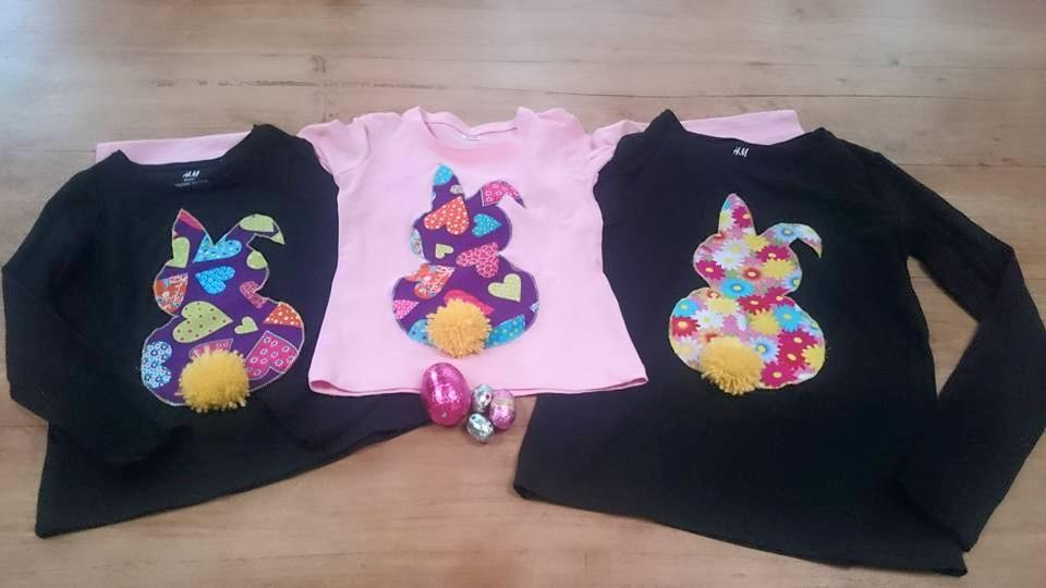 bunny shirts diy