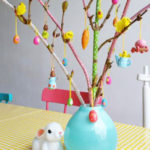 DIY: Mini Lente Decoratietakken met Masking Tape