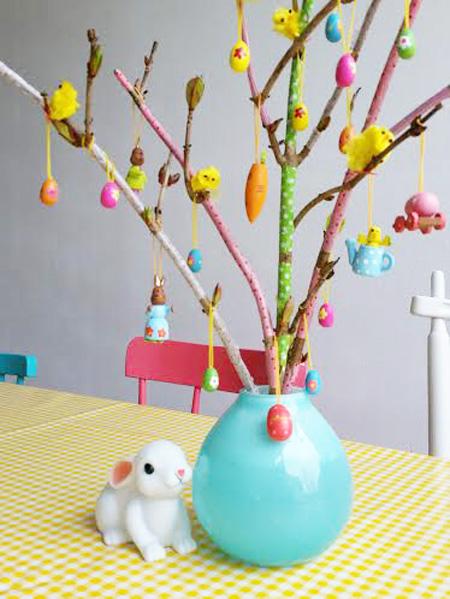DIY: Mini Lente Decoratietakken met Masking Tape