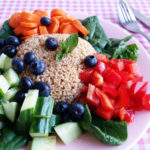 Knapperige Salade met Kaneelquinoa (Vegan Proof!)