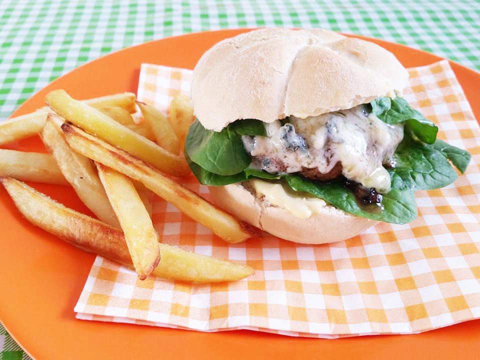 burger-blauwe-kaas-spinazie