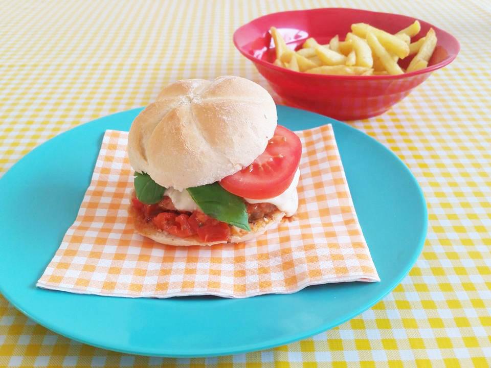 burger-tomaat-mozzarella