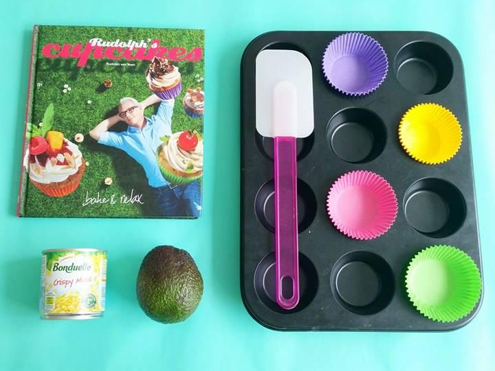 hartige cupcakes bakken