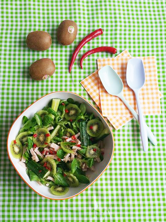 kiwisalade-kip-komkommer