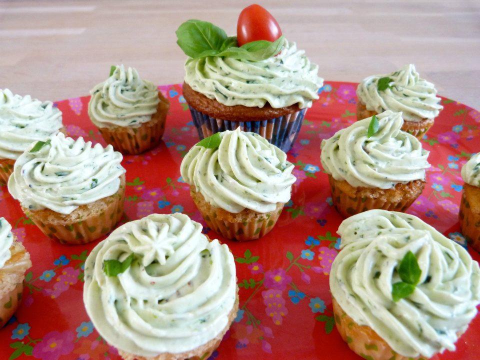caprese cupcakes