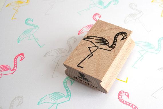 flamingostempel