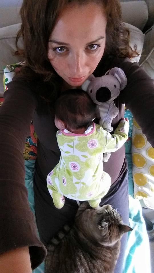 newborn en poes