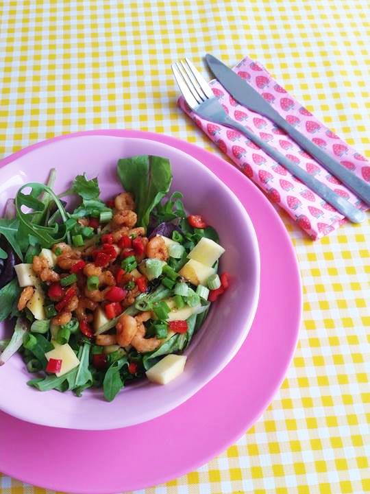 salade-mango-garnalen