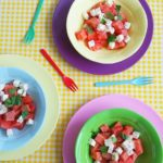 Ik kan eindeloos lullen over Watermeloen met Feta