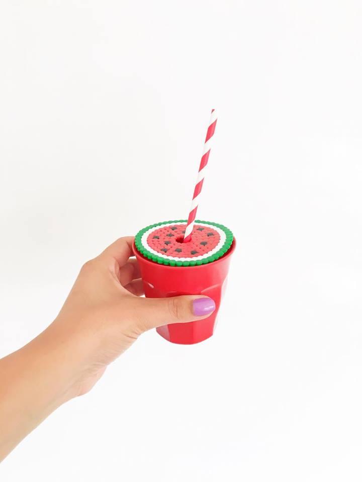 strijkkralen limonade beschermer