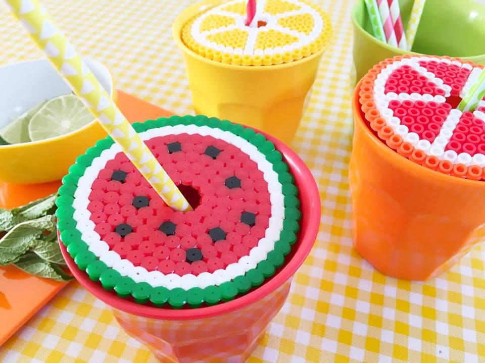 strijkkralen limonade rietjes