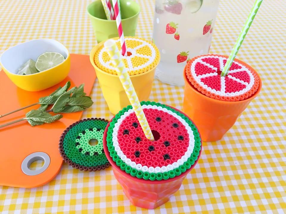 strijkkralen limonade