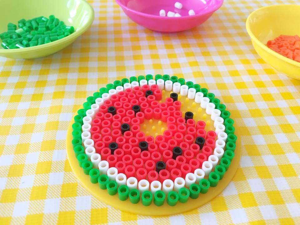 strijkkralen watermeloen