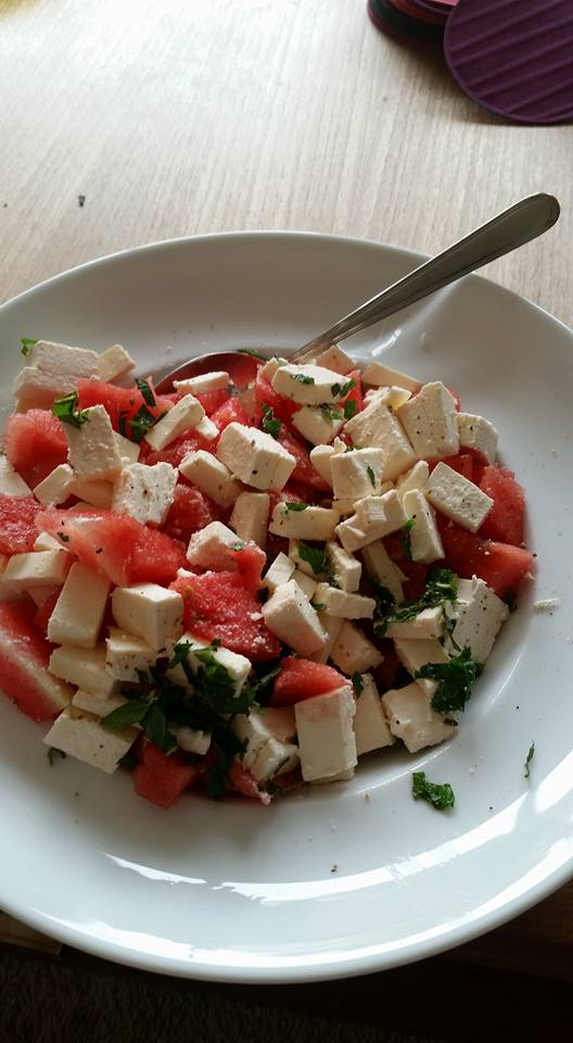 watermeloen feta marieke