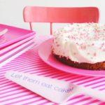 Babyshower Carrot Cake