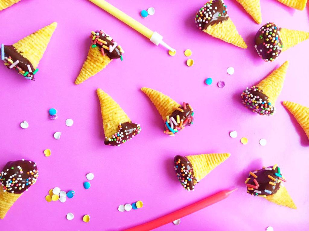 bugles-pindakaas-chocolade
