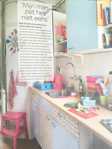 kleurrijke keuken