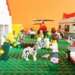 Hoe maak je een LEGO-stad schoon?