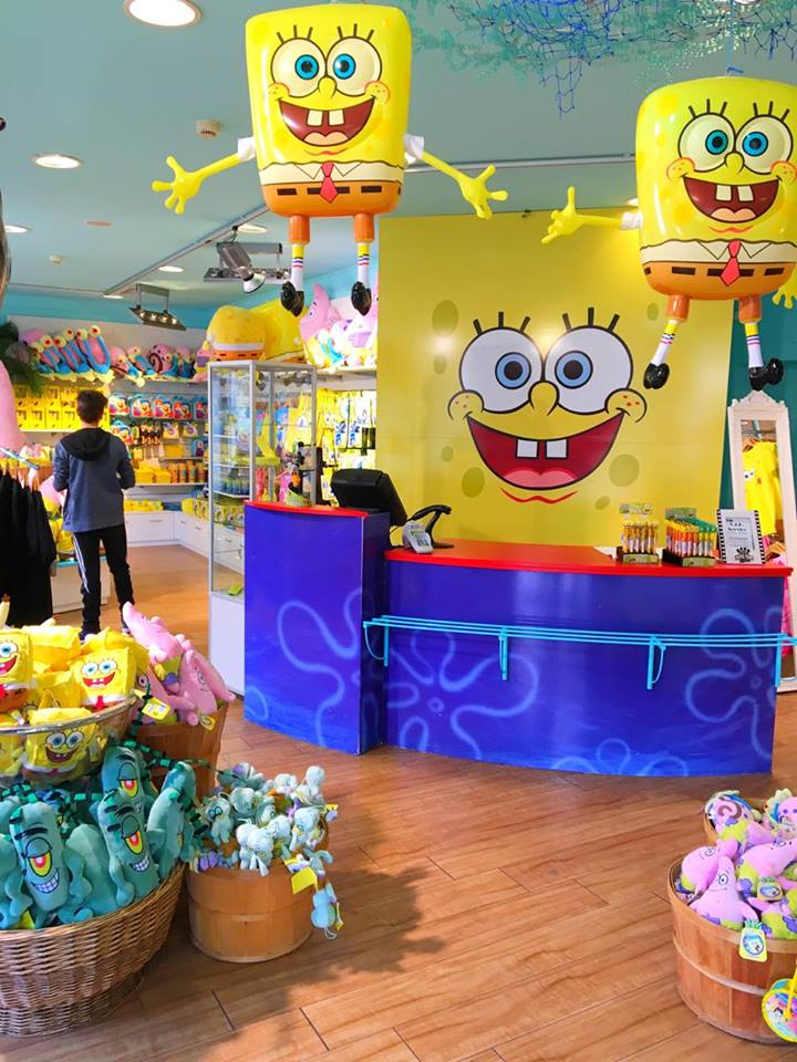 spongebob shop
