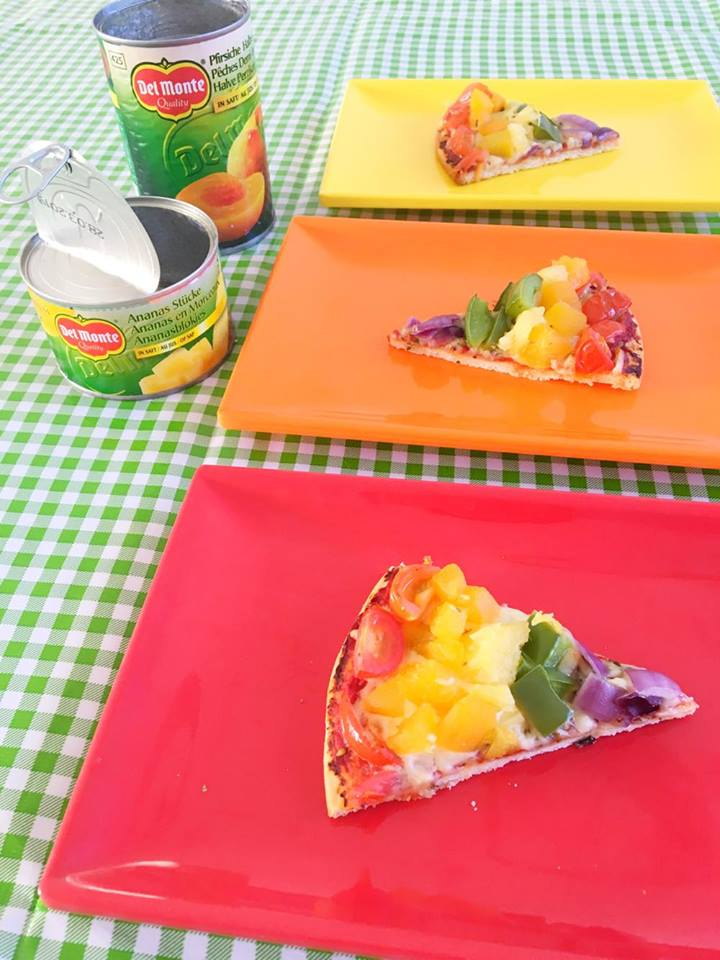 rainbow pizza del monte