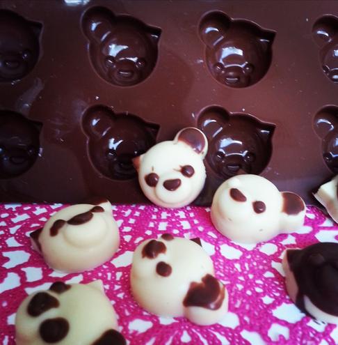 chocolade pandaberen