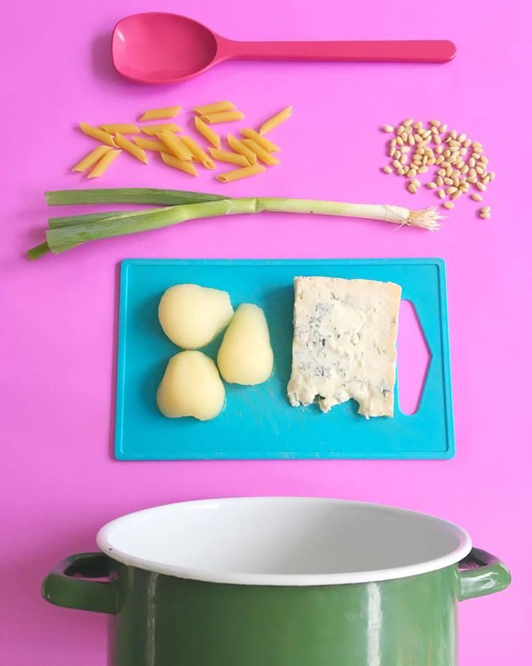 pasta-peer-gorgonzola-ingredienten