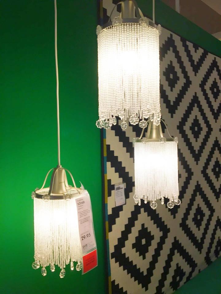 IKEA SODER LAMP