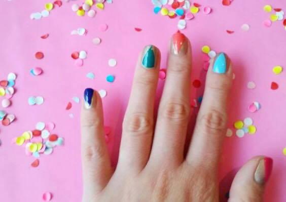 diy party nails