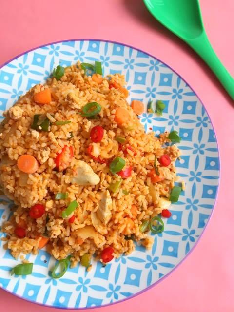 nasi goreng zonder pakjes of zakjes