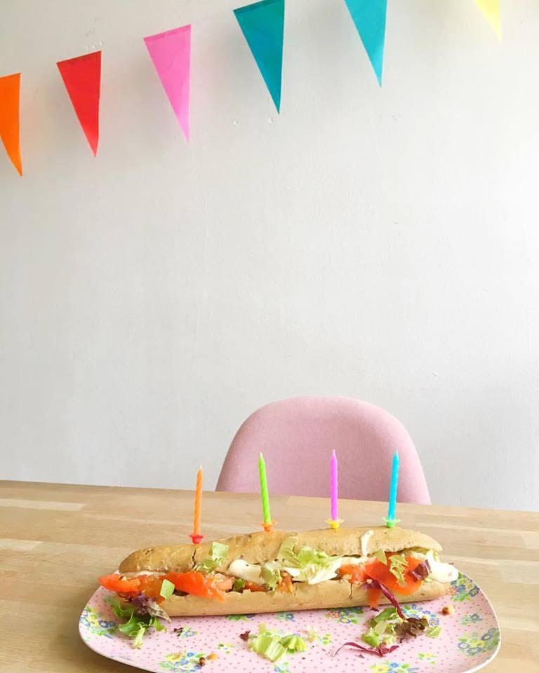 Birthday Broodje