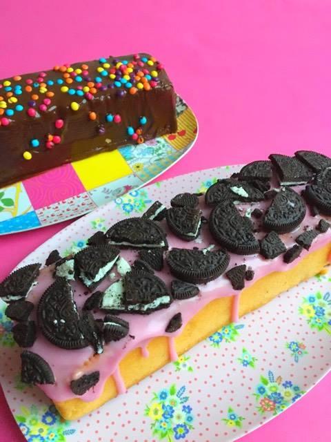 no bake oreo party cake