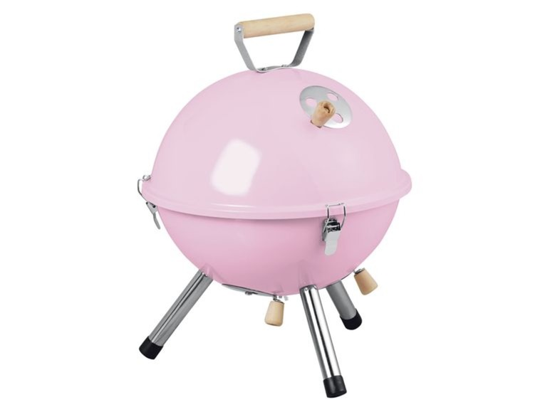 roze barbecue LIDL