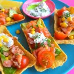 Party Snacks: Taco Tubs met Zalmsnippers