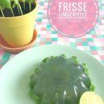 Frisse Jelly van Limoen & Basilicum