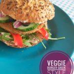Veggie Burger Greek Style