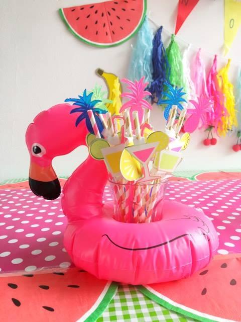 flamingo bekerhouder