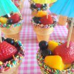 Traktatietip voor peuters & kleuters: IJsbakjes met fruit!