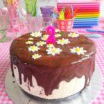 NO BAKE: Naturel Kwarktaart met Oreo's & Chocolade